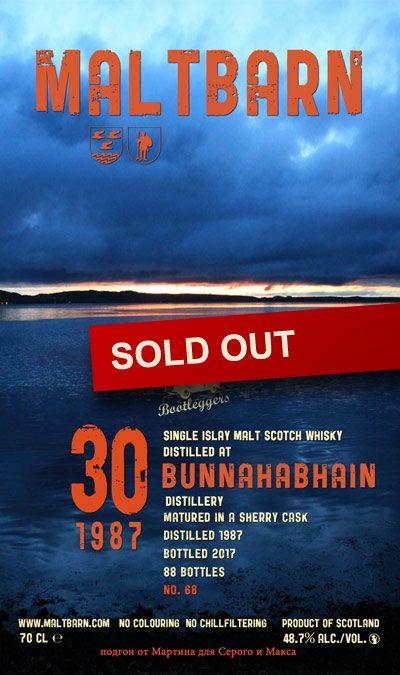 Maltbarn 68 –  Bunnahabhain 30 Years