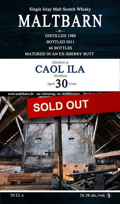 Maltbarn 01 – Caol Ila 30 Years