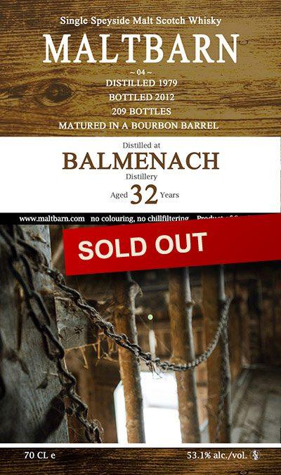 Maltbarn 04 – Balmenach 32 Years