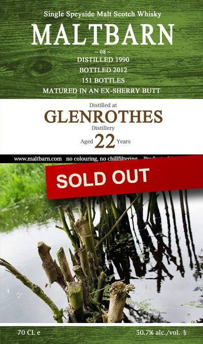 Maltbarn 08 – Glenrothes 22 Years