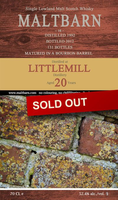 Maltbarn 10 – Littlemill 20 Years