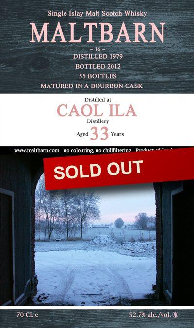 Maltbarn 16 – Caol Ila 33 Years