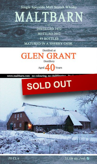 Maltbarn 17 – Glen Grant 40 Years