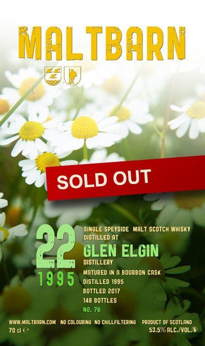 Maltbarn 76 – Glen Elgin 22 Years