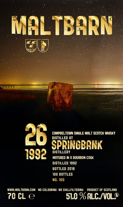 Maltbarn 100 – Springbank 26 Years