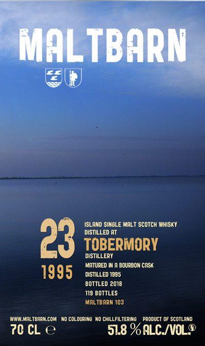 Maltbarn 103 – Tobermory 23 Years