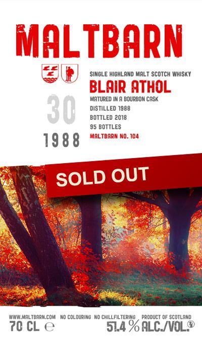 Maltbarn 104 – Blair Athol